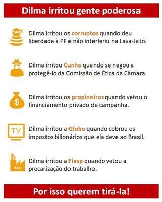 Dilma razoes